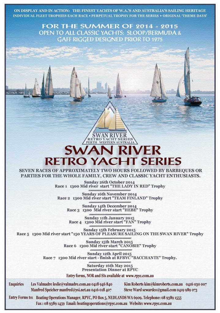 Swan River Retro series 2014-15